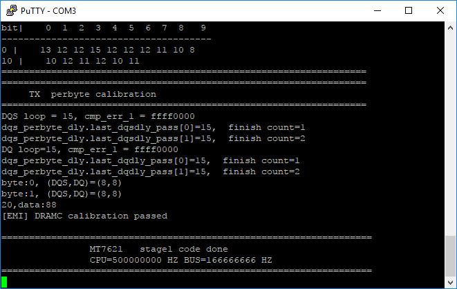 DRAM init Passed